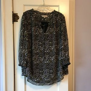 Loft Long-sleeved blouse, great for work!